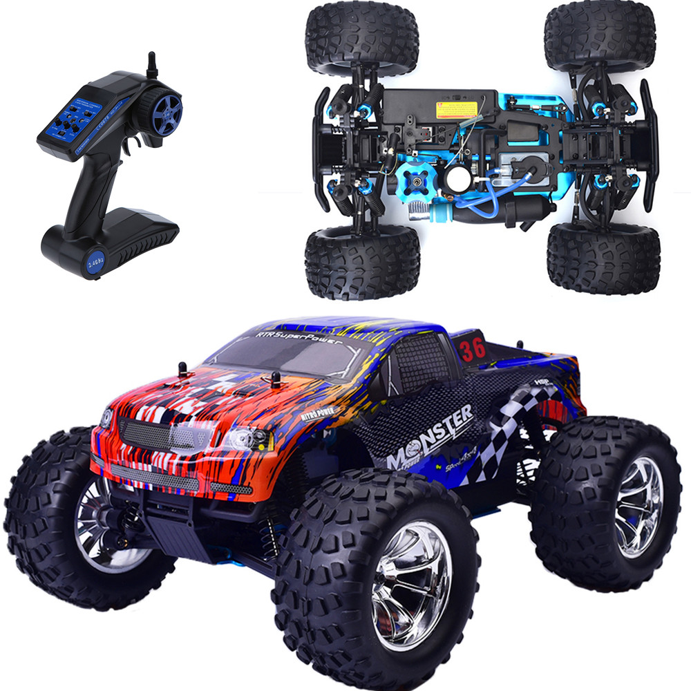 Monster Truck Bowie 1/10 Himoto 2.4Ghz 4WD RTR ...