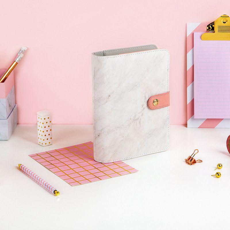 Ofis ve Okul Malzemeleri'ten Not defterleri'de Benim Serin Yaşam Narin Spiral A6 Günlüğü DIY Planlamacı Hediye Ücretsiz Kargo Happykids_11 Store