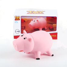 Disney Pixar Toy Story 4 Hamm Piggy Bank Pig Woody Buzz Lightyear Decoration Kids Model For Children