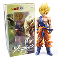 Dragon Ball Z Super Estrelas Mestre Pedaço O Son Goku Super Grande 36 cm PVC Action Figure Collectible Modelo Toy 3 tipos