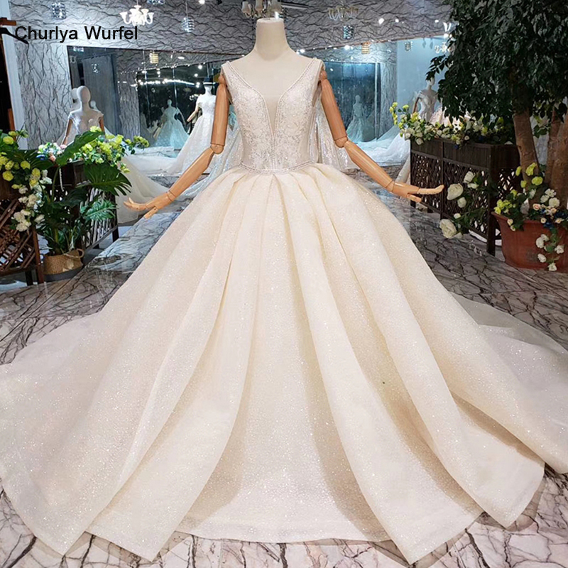 HTL333 Sexy wedding dresses with cape sleeveless v-neck ball gown princess gowns free shipping vestido de noiva simples