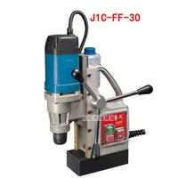 Mini elétrica máquina de perfuração magnática J1C-FF-30 assento magnético oco tijolo broca 220v 50 hz 900 w 450r/min 11500n nova chegada