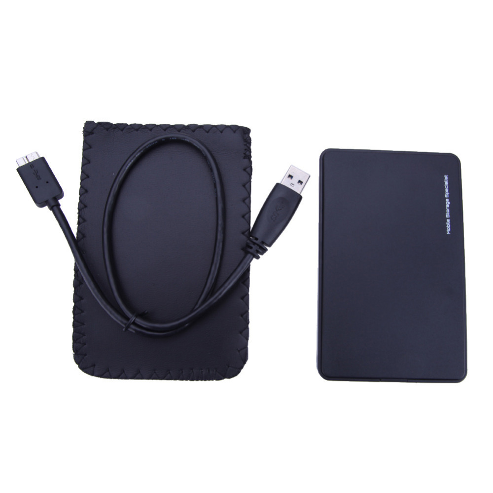 High quality 2 5 usb 3 0 sata hd box hdd hard disk drive external hdd