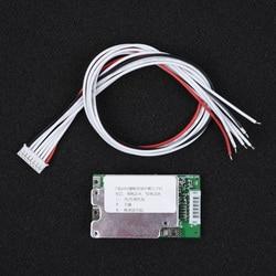 Bms 24 v 7 s string 20a placa de proteção equilíbrio dissipador de calor para 18650 balancer li-ion bateria de lítio bloco de carga célula proteger placa