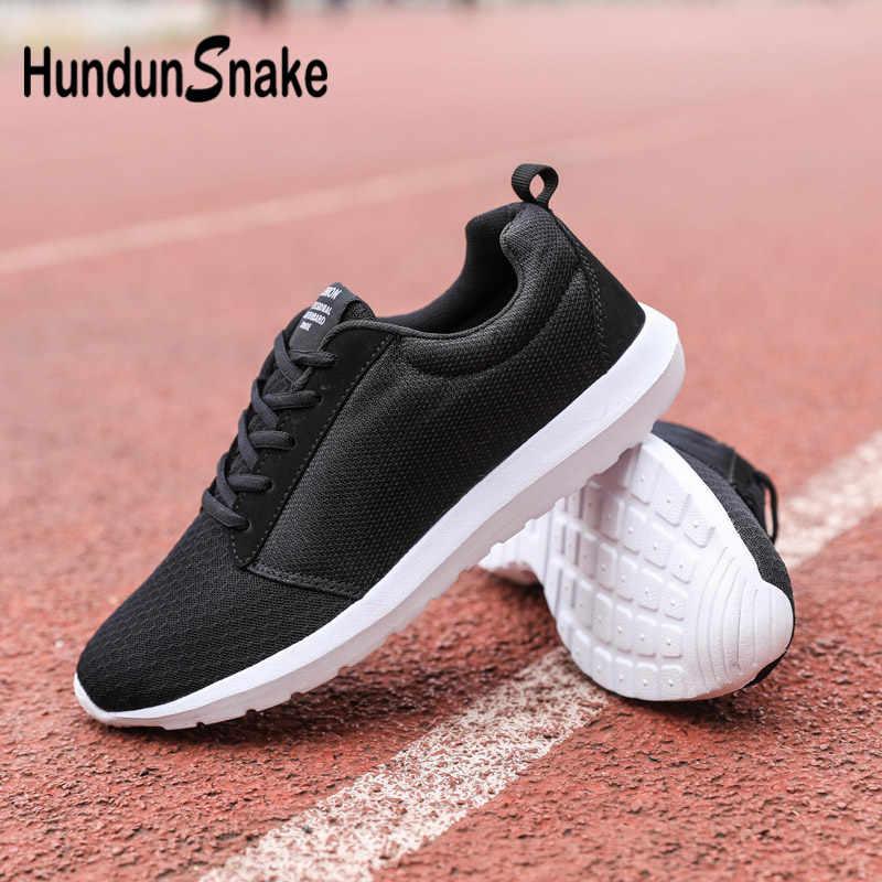 fdbb01eaa4b8 Detail Feedback Questions about Hundunsnake Big Size Gym Shoes Men Mesh  Sports Sneakers Breathable Men Running Shoes Women Summer Footwear Black  Training G ...
