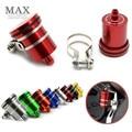 Universal Motorcycle Brake Pump Reservoir Clutch Tank Oil Fluid Cup for KAWASAKI Z750 800 NINJA 250/300 YAMAHA R1 R3 R6 R15 R25
