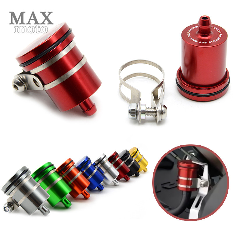 Universal Motorcycle Brake Pump Reservoir Clutch Tank Oil Fluid Cup for KAWASAKI Z750 800 NINJA 250/300 YAMAHA R1 R3 R6 R15 R25