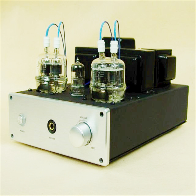 HIFI 6N2 + fu32 vacuum tube power amplifier, professional audio headphone amplifier finished product machine finished xp7 headphone amplifier ad797 buf634 hifi headphone power amplifier new