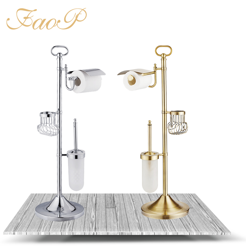 FOAP Bath Hardware Sets toilet brush holder Tissue Holder Bathroom Accessories set Bathroom Toilet Paper Holders