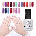 UV Gel Nails 8ml Luv Rosa UV Nail Gel Polish Glitter Nail Varnish Soak Off Transparent LED Gel Nail Polish