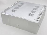 WF1166 алюминиевый роскошный корпус класса A коробка предварительный корпус ламповый усилитель шкаф усилитель мощности шасси высокого качест