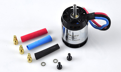 Tarot 450 parts 3800KV/3.5MM Brushless motor TL450M RC Helicopter Parts Tarot 450 spare parts FreeTrack Shipping tarot tl48023 01 metal carbon fiber tail gearbox assembly tarot 450 rc helicopter spare parts freetrack shipping
