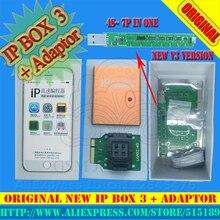 IP BOX3 ip высокоскоростной программист для iphone pad, программист на жестком диске для 4S 5 5c 5S 6 6plus, инструменты для обновления памяти 16g to128