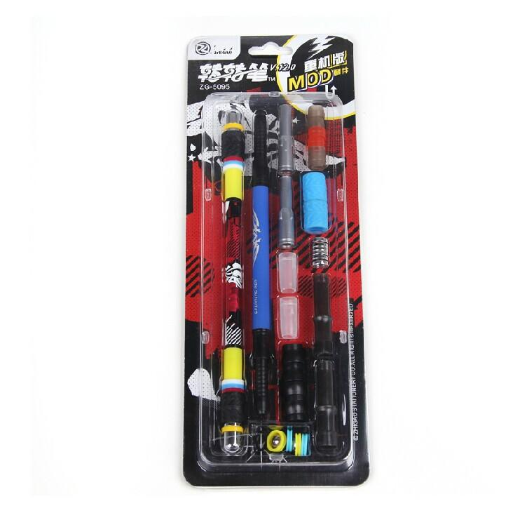 Spinning Pen 5095 V 12(with 2 Pens) Non Slip Coated Spinning Pen Champion Spinning Rolling Pen Ball Point non point source pollution modelling with gis