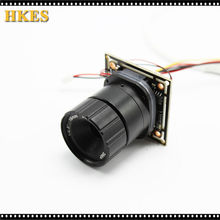 DIY Camera HD Mini AHDH 1080P AHDM Camera Module Board 2MP 720P 1080P CCTV Security Camera with 16mm Lens