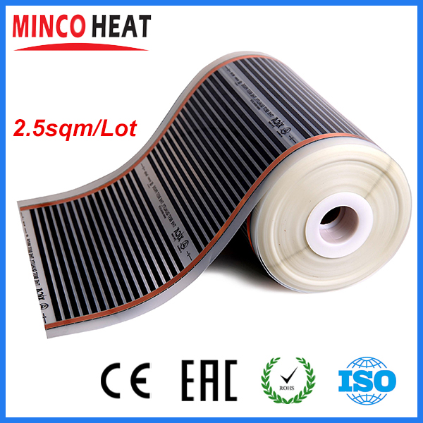 25m2 Infrared Floor Heating Electric Infrared Film