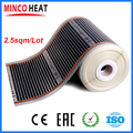 2.5M2 infrared floor heating electric infrared film temperature low electrical carbon heating film warm floor mat