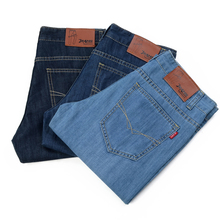 Men Slim Straight Denim Jean Spring And Autumn High Quality Pant Fashion Trousers For Male Casual Men's Jeans