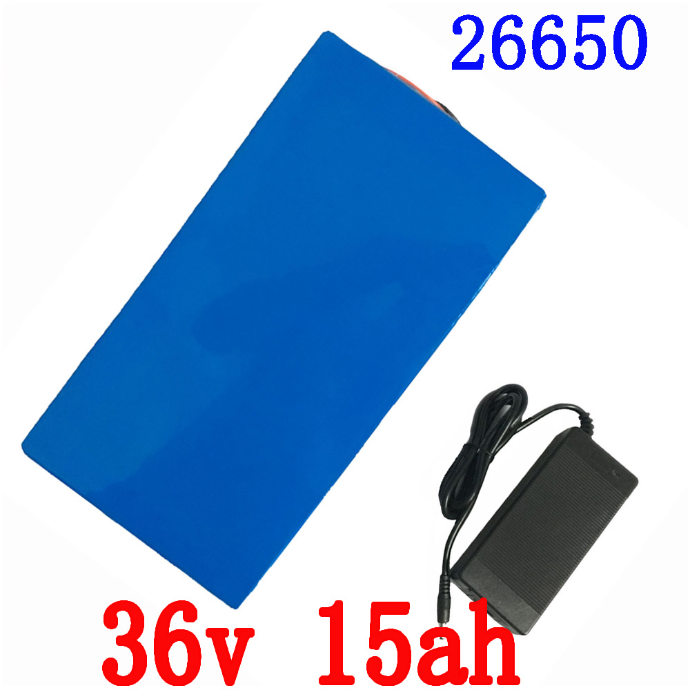 36v 15Ah e-Bike Battery for 1000w Motor Power with 42v 2A Charger Built in 30A BMS Scooter Lithium Battery 36v Free Shipping ebike battery 48v 15ah lithium ion battery pack 48v for samsung 30b cells built in 15a bms with 2a charger free shipping duty