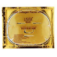 Altın kollajen besin maddeleri cilt bakımı yüz maskesi Anti-Aging kırışıklık karşıtı güzellik arındırıcı nemlendirici kişisel yüz bakımı maskesi