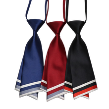 Fashion Womens Professional Wear Ties Stewardess Bank Work Clothes Campus Wind Student Uniforms Detachable Collar Free Shipping