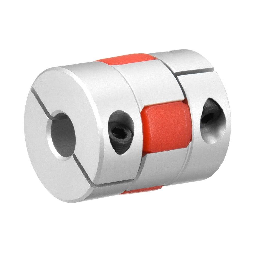 uxcell dos diafragma de acoplamiento flexible eje de acoplamiento flexible motor
