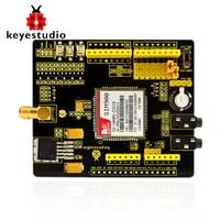 Free shipping! Keyestudio SIM900 GSM GPRS module shields for Arduino wireless module with extension wire