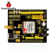 Бесплатная доставка! Keyestudio SIM900 gsm модуль GPRS щиты для Arduino беспроводной модуль с расширением провода