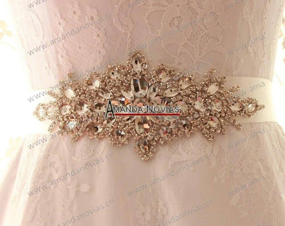 Weddings & Events Freies Verschiffen Echt Fotos Sparking Kristall Gürtel Hochzeit Braut Perlen Gürtel Jahre Lang StöRungsfreien Service GewäHrleisten