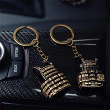 Game PUBG VEST KeyChain Playerunknown's Battlegrounds Cosplay Props Military Bulletproof 3 Level Vest Alloy Key Chain