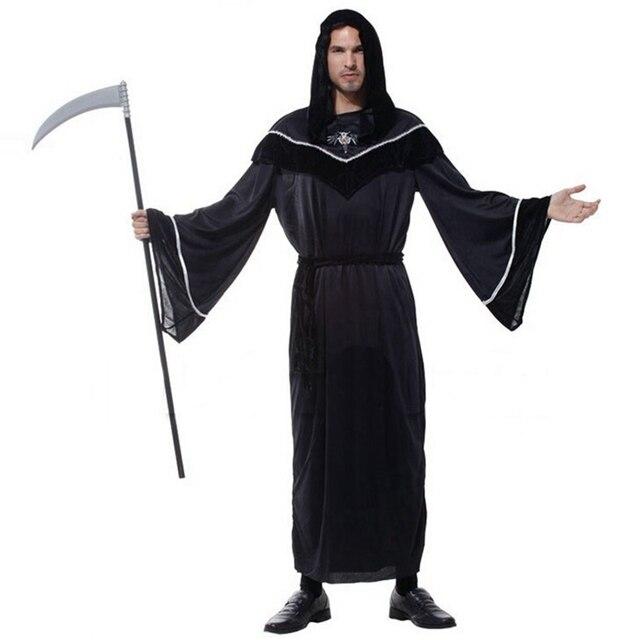 Schwarz $ Braun Mitternacht Messenger Erwachsene Halloween Party ...