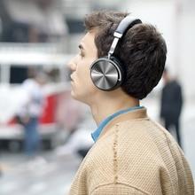 Оригинальные Bluedio T4 Bluetooth наушники активное шумоподавление беспроводные наушники с возвращающийся дизайн  и чистым звуком