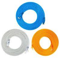 Ethernet Cable RJ45 Lan Cable Network Gigabit Patch Cable Shielded Connector for Computer Router Laptop Modem EX01