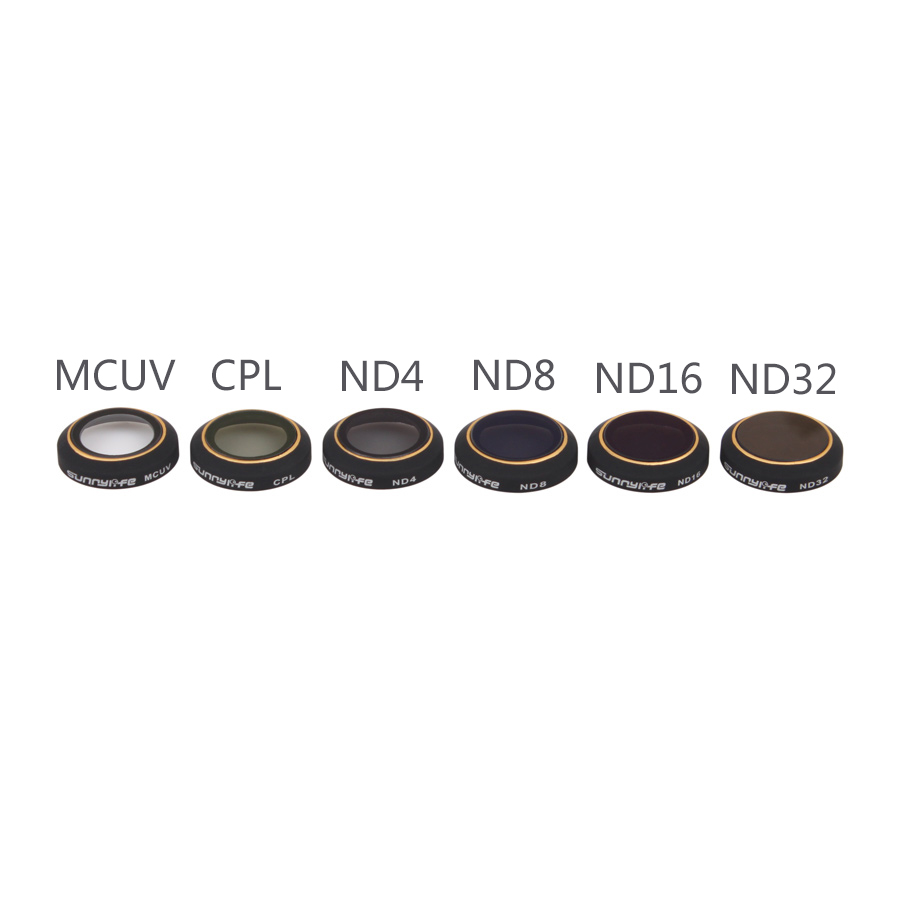 ND4 ND8 ND16 ND32 CPL UV Filter for DJI Mavic Pro Filter Gimbal Camera Polarizer Neutral