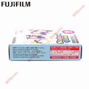Image 5 - 20 arkuszy Fujifilm Fuji Instax Mini 8 nowy Macaron + witraż Film na 11 7 8 9 50s 7s 90 25 udostępnij SP 1 SP 2 aparaty błyskawiczne