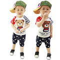 little man outfit retail baby baby dropship 0 3 month clothing new born clothes set cotton deer baby clothes carter baby origina