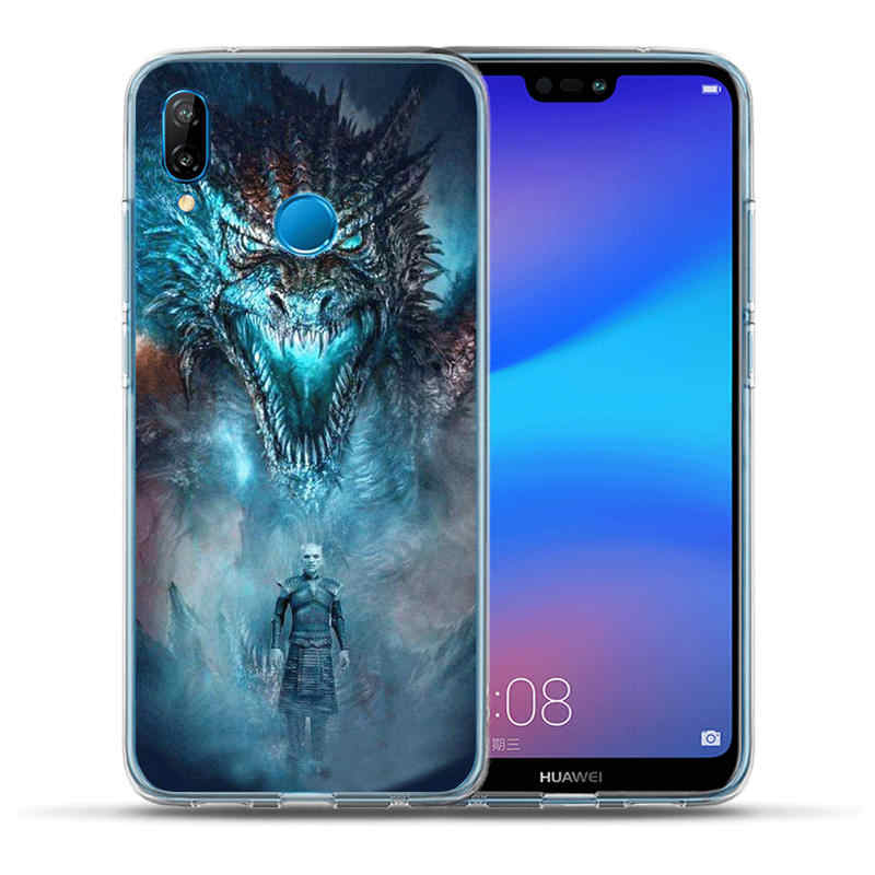 Game Thrones Got Silicone coque de téléphone pour Huawei P30 P20 P10 Lite Pro Mate 20 10 Lite Pro P9 P8 Lite 2017 PSmart 2019 couverture souple