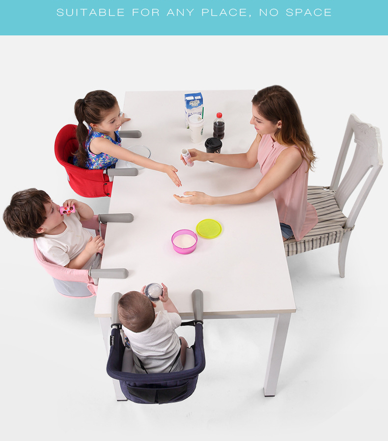 детский стульчик портативный складной сиденья многофункциональный слинг младенческой продукт столовая детское кресло стул для детей стул для кормления