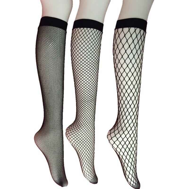 2017 New Arrival Women Mesh Lace Fish Net Short Glitzy Transparent Socks Ruffle Fishnet Ankle High Socks
