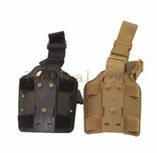 Tactical polowanie 3280 uniwersalny nogi udo spadek wiosło kabura Adapter platformy GL 17 M9 92 HK USP akcesoria