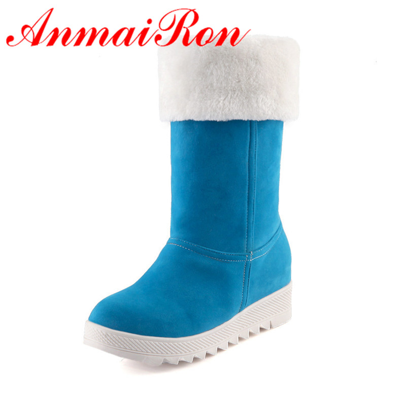 aliexpress buy anmairon mid calf boots for