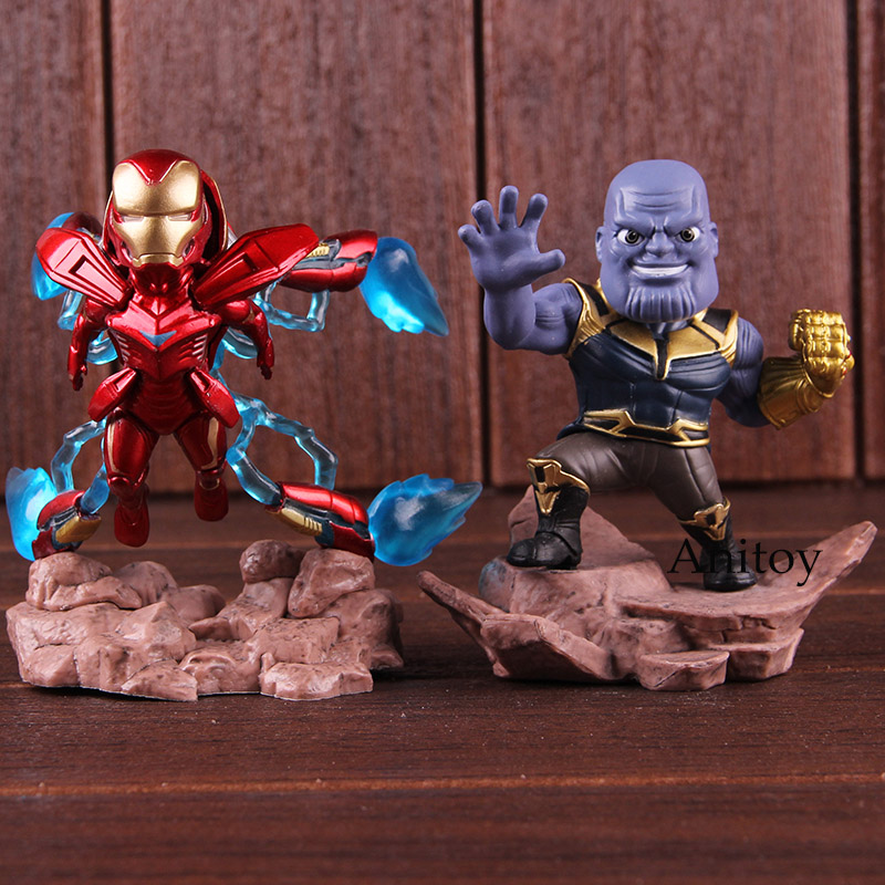 Avengers Infinity War Mini Egg Attack Doctor Strange Pvc Figure Collectible Model Toy Toys & Hobbies