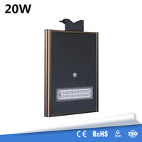 Outdoor Waterproof IP65 20W King Kong Type All In One Solar Street Light Integrated LED Garden