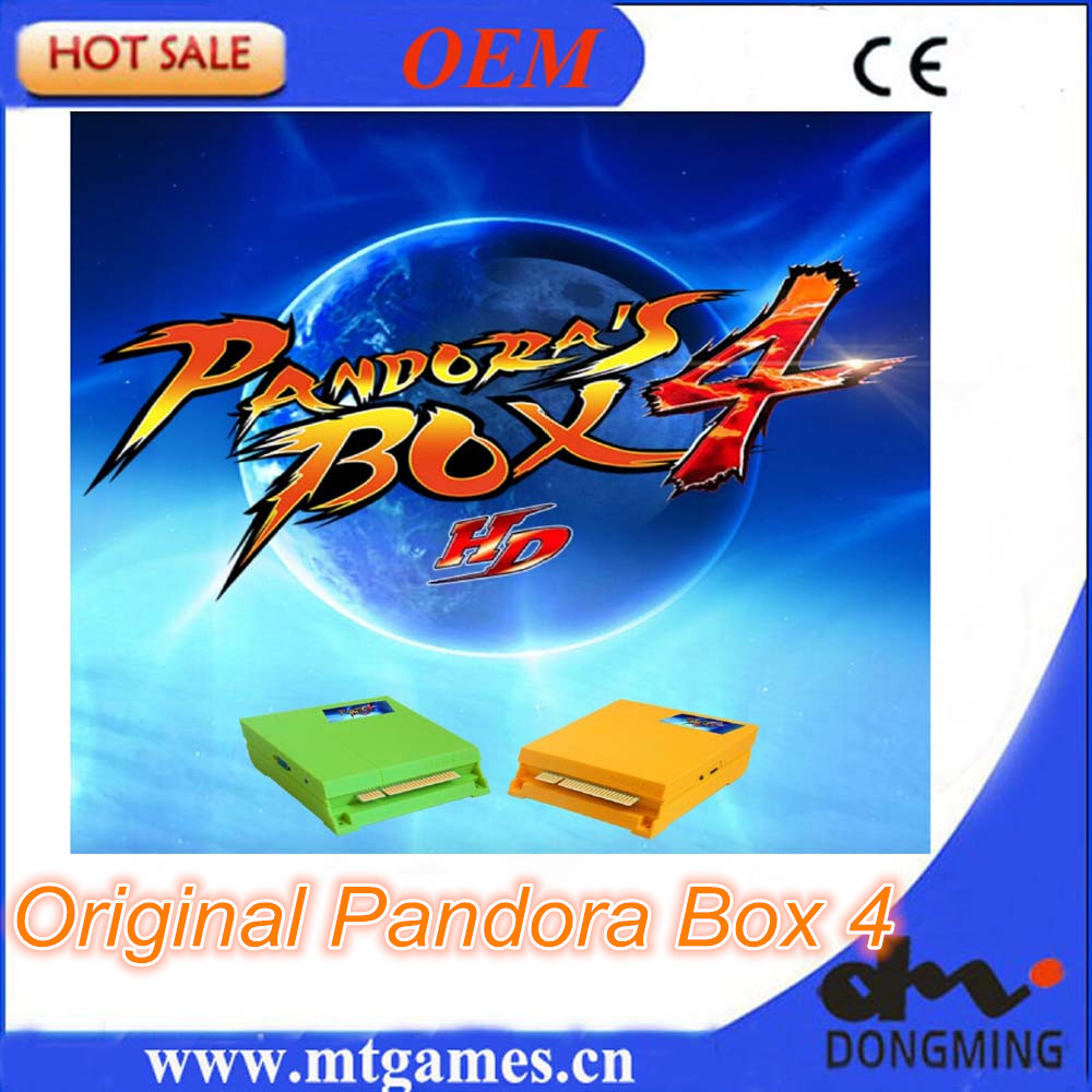 Free Shipping Original Pandora Box 4 HD / 645 in 1 Jamma Multi game board support CRT/ LCD for bartop upright arcade machine free shipping pandora box 4 vga cga output for lcdcrt 645in1 game board arcade bundle video arcade jamma accesorios kit arcade