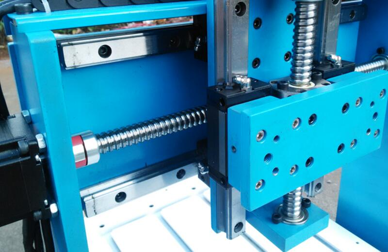 Rail de guidage linéaire 4 axes CNC fraisage 3040 bois métal graveur routeur machine haute précision pour aluminium cuivre forage sculpture - 5
