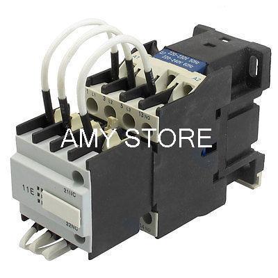 цена на CJ19-25 Ui 500V 220V Coil 25A Pole 1NO Changeover Capacitor AC Contactor