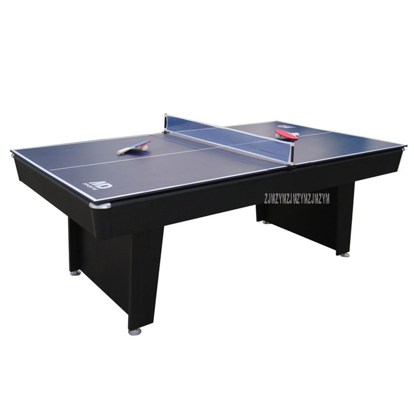 2 в 1 бильярдный стол набор 7 футов с функцией настольного тенниса современный дизайн сильный каркас ноги спортивная игра оборудование для игры SUB-8447K2