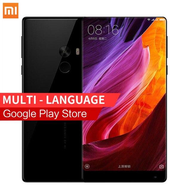 """Бесплатная MIband2 Подарок! Xiaomi Ми Mix 6.4 ''4 ГБ RAM 128 ГБ ROM 4400 мАч Snapdragon 821 6.4"""" Полный Экран 2040x1080 P Смартфонов"""