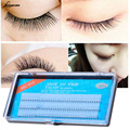 Natural 0.07 mm C Curl 3D Black Individual Silk W Lash False Eyelashes Extension M02682