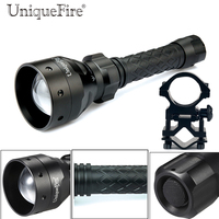 UniqueFire Infrared Night Vision LED Flashlight UF 1406 IR 940NM 3 Modes Zoom Focus Tactical Flashlight